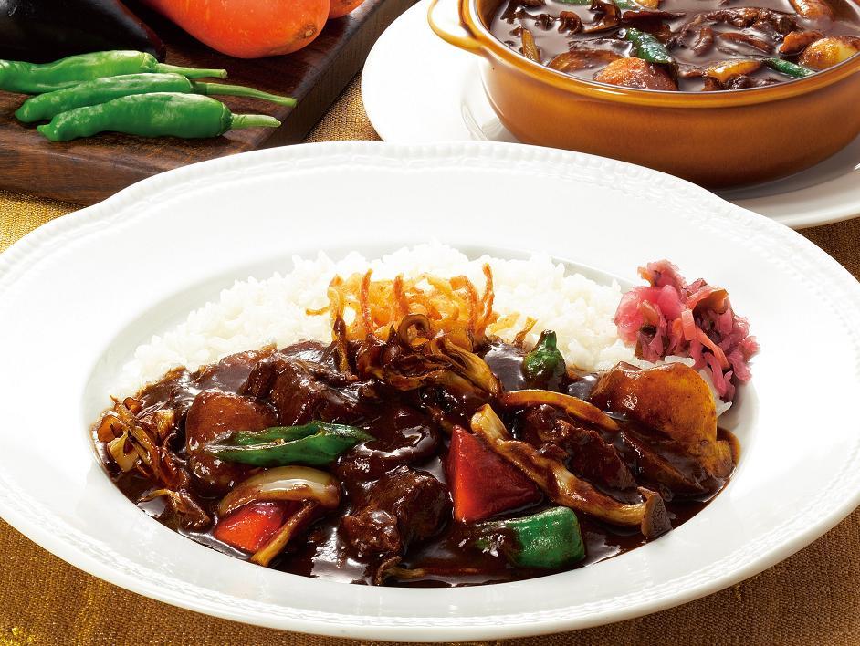 1国産野菜のカシミールビーフカレー