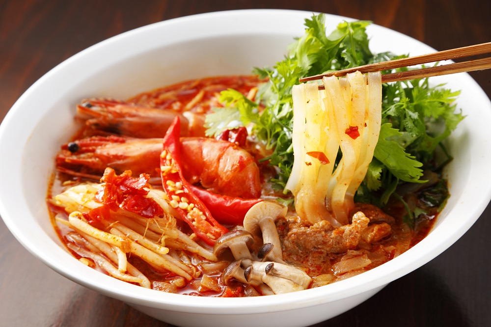 6バーンリムパー_パクチートムヤム麺
