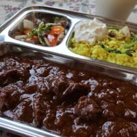 マンダラ カレー名店 ビーフマサラカレー 北インドカレー 日刊カレーニュース