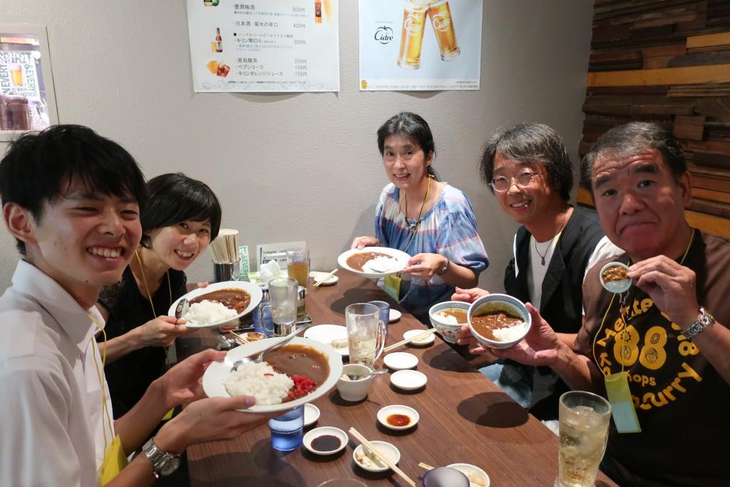 神田カレーグランプリ 総決起集会 カレースタンプラリー カレーの聖地 神田カレー サパナ