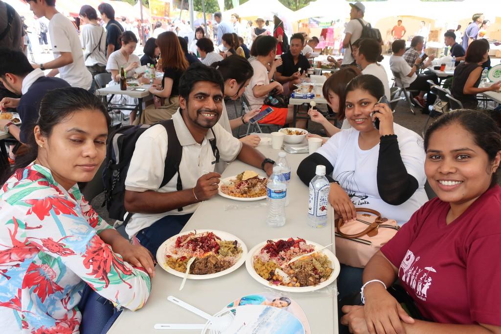 スリランカフェスティバル スリフェス スリランカカレー ランプライス スリランカプレート