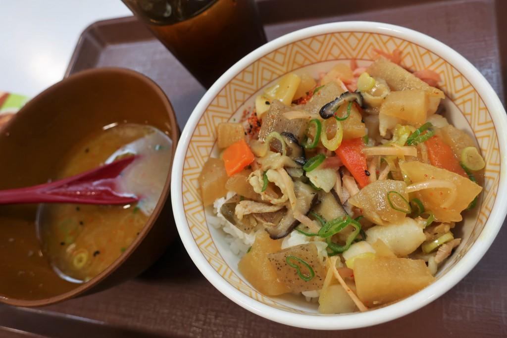 すき家 すき家カレー カレー豚汁 日本カレー