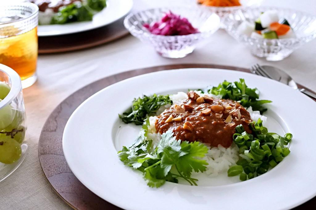 植物肉カレー ソイミートカレー  ベジタリアンカレー ヴィーガンカレー