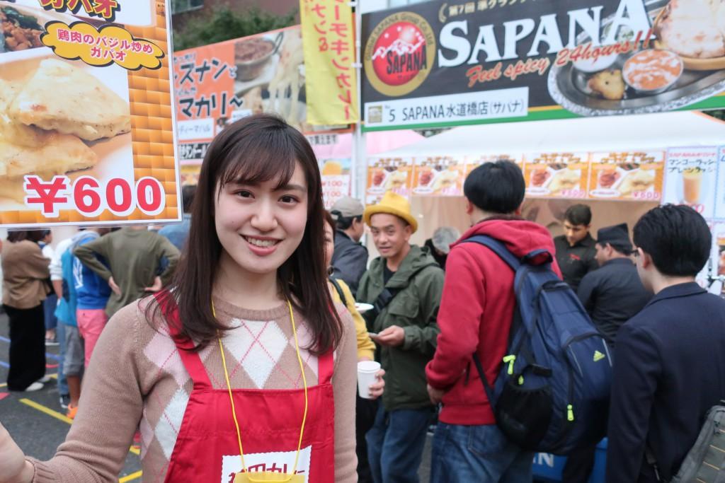カレー女子 神田カレーグランプリ カレーイベント カレー美女 一条もんこ