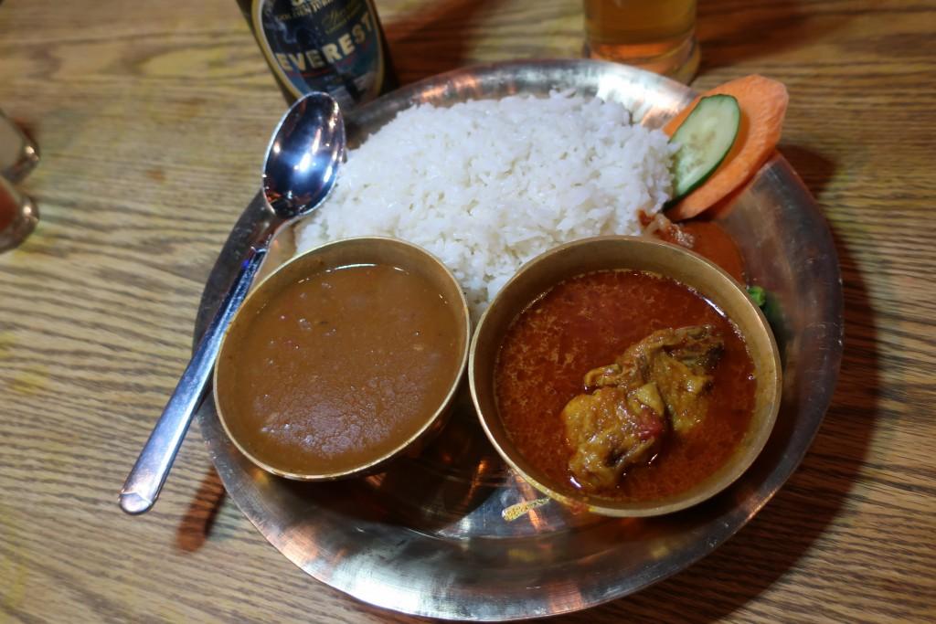 ネパールーカレー カスタマンダップ 大塚カレー ネパール民族料理 アーガン