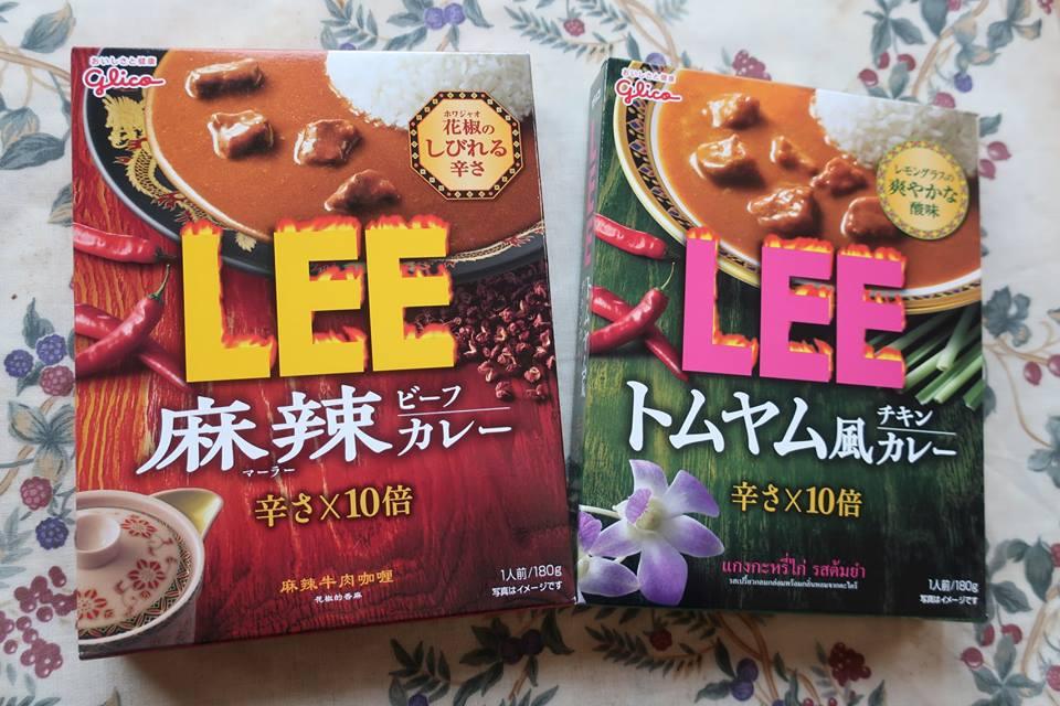 激辛カレー LEE グリコカレー カレー新商品 麻辣ビーフカレー トムヤム風チキンカレー