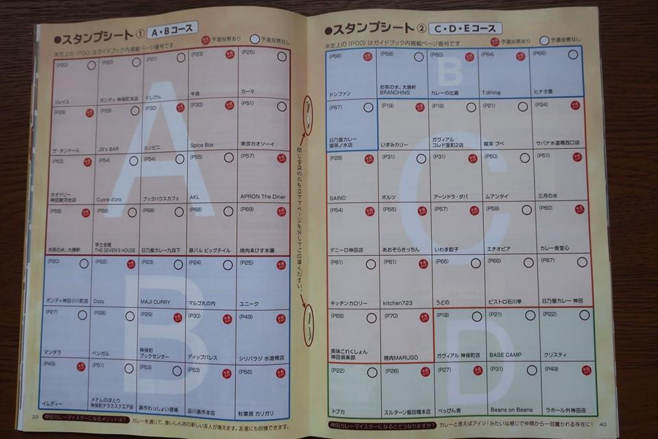 神田カレーグランプリ 神田カレー街 公式ガイドブック カレースタンプラリー カレー食べ歩き カレーマイスター カレーラリー 神田カレーファンクラブ