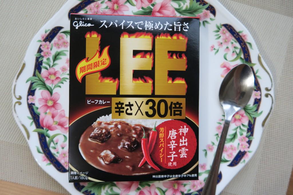 激辛カレー 30辛 30倍 グリコLEE カレー新商品